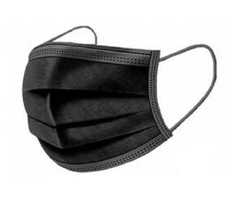 Musta IIR kirurginen maski